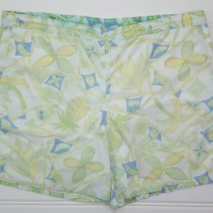 Lily Pulitzer Swim Trunks XL Mens Multicolor Green